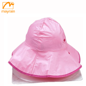 hot sale kids rain hat