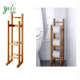 New Design Paper Stand Bamboo Toilet Roll Holder