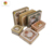Food grade packing Square gift Tin Box for chocolate and tea packaging