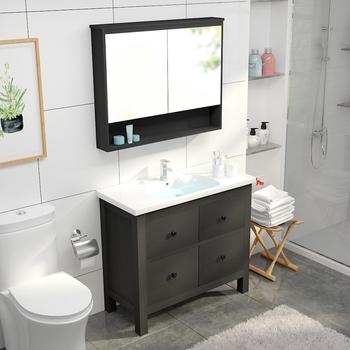 Hotel Single Sink Bathroom Vanity