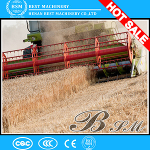 Top quality mini rice and wheat combine harvester for small or medium size farms