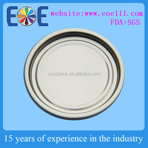 Discount dry foods lid 209(63mm) composite can aluminum bottom cap