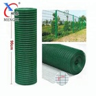 dark green color square hole wire mesh fence