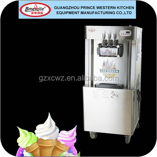 garanzia di commercio macchina per il gelato fatto in porcellanasoft serve ice cream