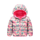 2-6years Baby Coats Winter Camo Children Girls Warming Clothes M7092407