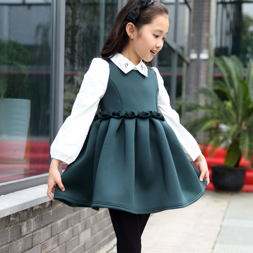 088f16e86733 2015 Korean Style Trendy Design Children Clothes Long Sleeve Velvet ...