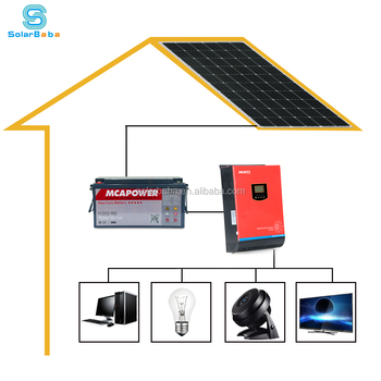 Solarbaba New Design Energy Saving 2kw Off Grid Home Solar Power System  Price For Sale