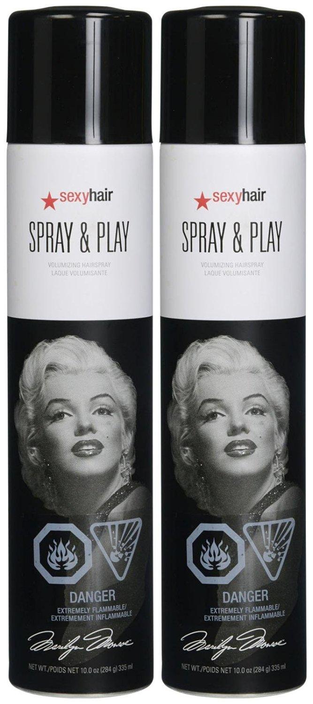 Big Sexy Hair Spray and Play Volumizing Hairspray, 10 oz, 2 pk