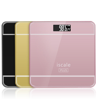Digital LCD Platform Height Measure Body Weight Bathroom Scale Metering Bathroom Measure Height And Weight Scale
