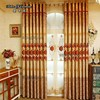 Wholesale ready made curtain with embroidery designs for curtains