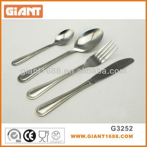 Indian Market Cheap Price Stainless Steel Cutlery