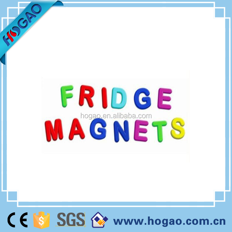 New cheap soft rubber alphabet letters fridge magnet
