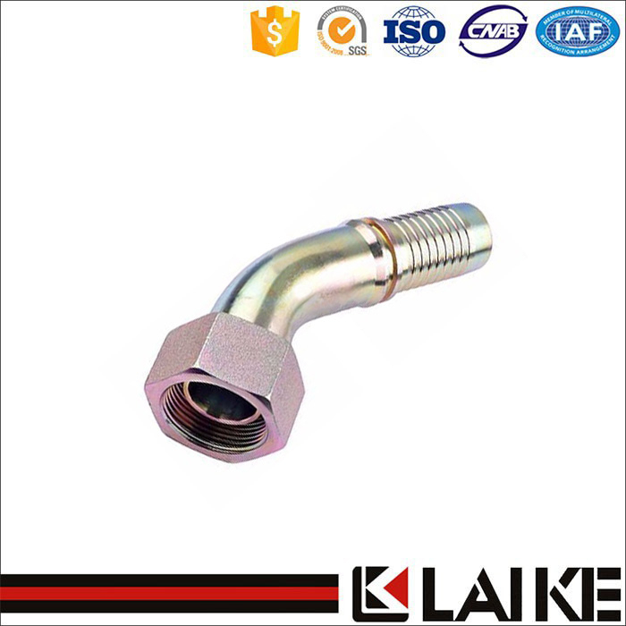 45 Degree BSP Female Brass Hose Fittings of Customized Design 22641