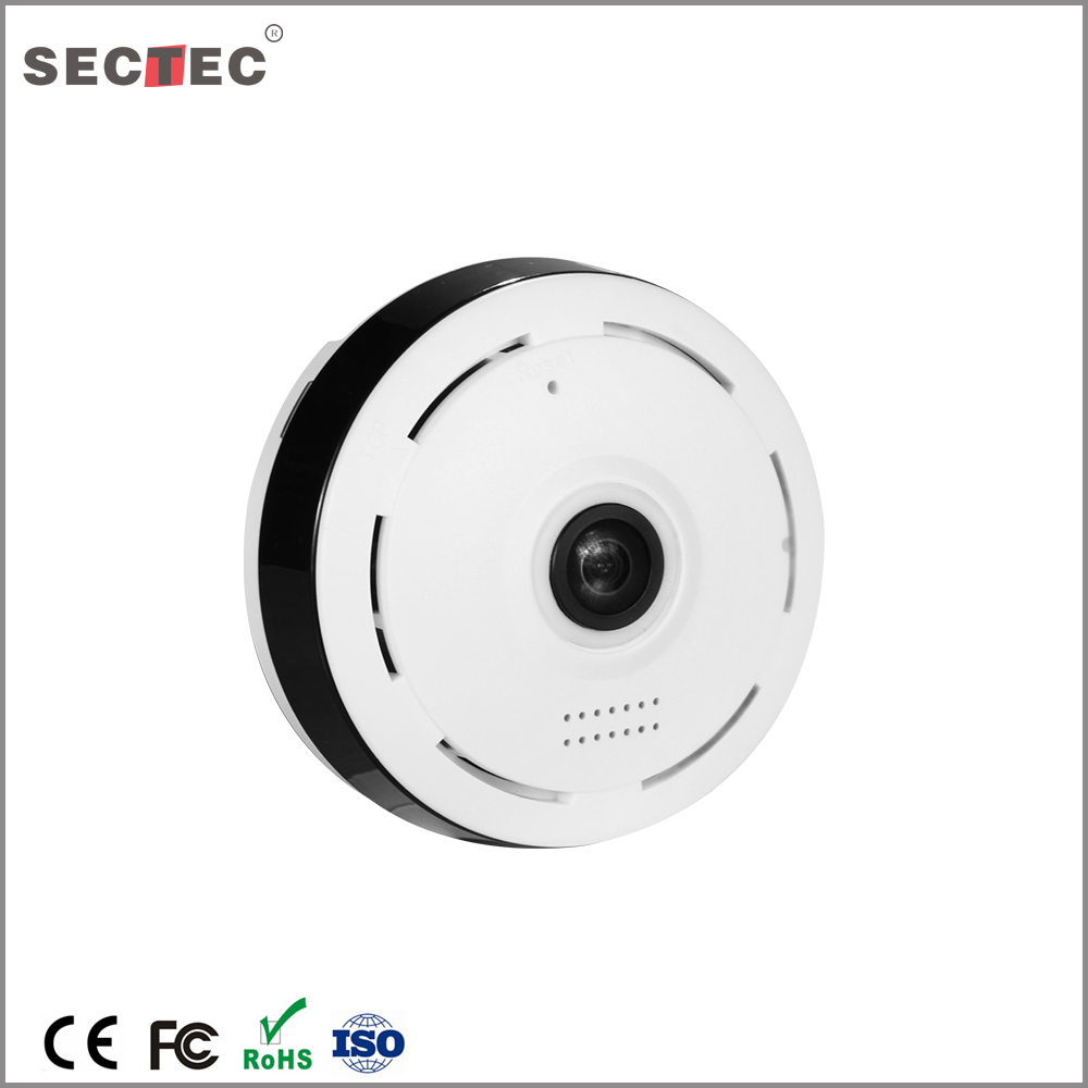 Mini pir wifi onvif 360 degree wide angle wireless wifi 3g ip camera
