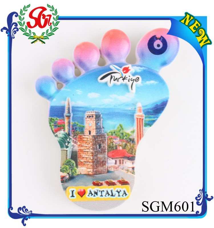 SGM601 new york los angeles souvenir fridge magnet, us cities souvenir magnets
