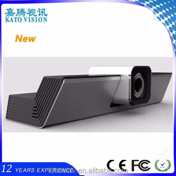 2017 New design usb/hdmi video camera hd 10x optical zoom android tv box with skype camera
