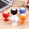 Mini Bluetooth Speaker Portable Candy Color Silicone Octopus Sucker Holder Stereo Subwoofer Loudspeakers For Mobile Phone PC MP3