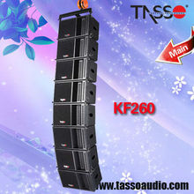 powered line array speakers horn
