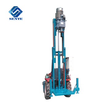 Widely used AKL-100T tractor used borehole drilling machine for sale