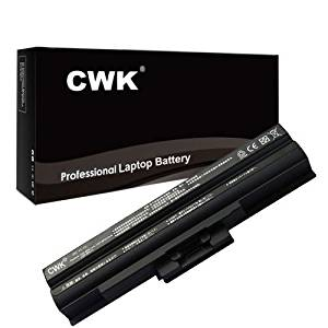 CWK® New Replacement Laptop Notebook Battery for Sony VAIO PCG-5T3L PCG-5T4L G-61111L PCG-61112L PCG-61411L PCG-3G6L PCG-3H1L PCG-3H2L PCG-3H3L PCG-3H4L PCG-7182L PCG-3G1L PCG-3G2L PCG-3G3L PCG-3G4L PCG-3G5L G-7183L PCG-5R2L PCG-5S1L G-5S2L PCG-5S3L PCG-5T2L PCG-9Z2L PCG-21312L PCG-21313L
