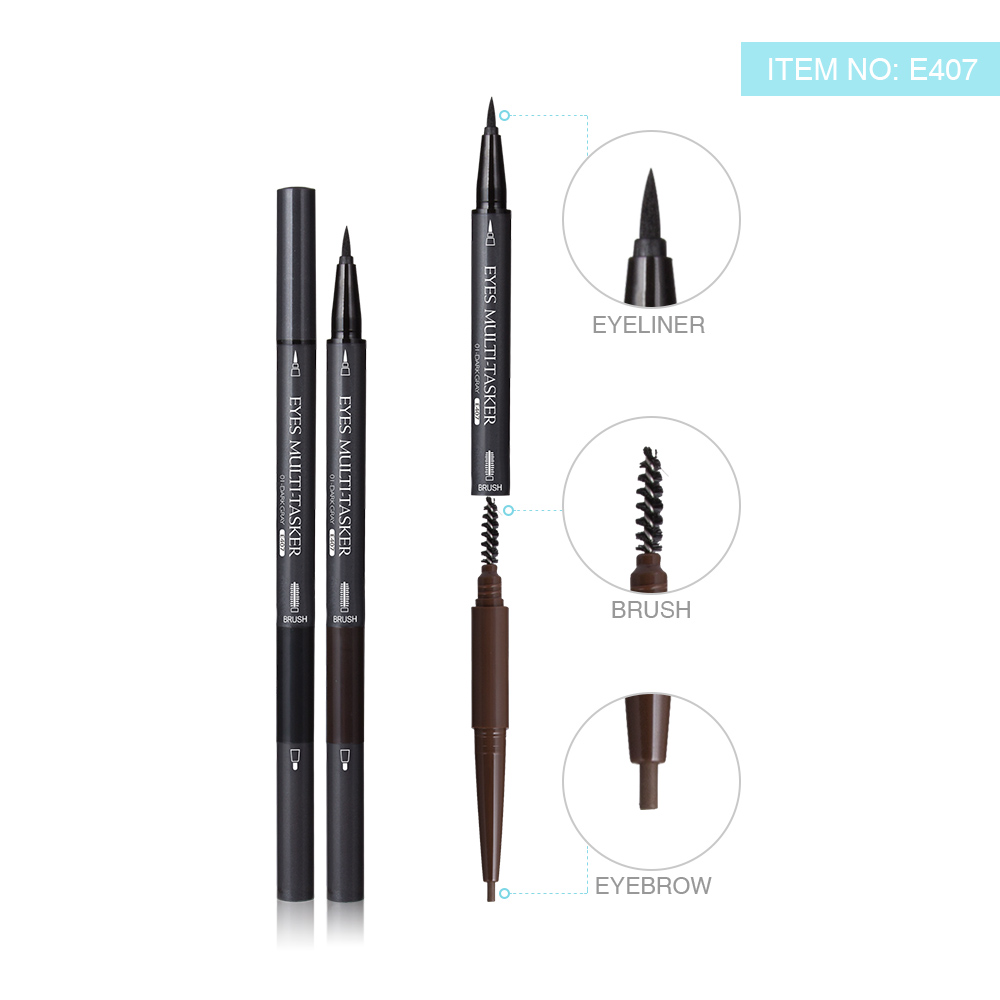 Menow E407 Multi-function 2 in 1 Eyeliner Pencil and Eyebrow Pencil