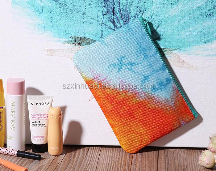 2016 New Products Gradient Clutch Cosmetic Bag