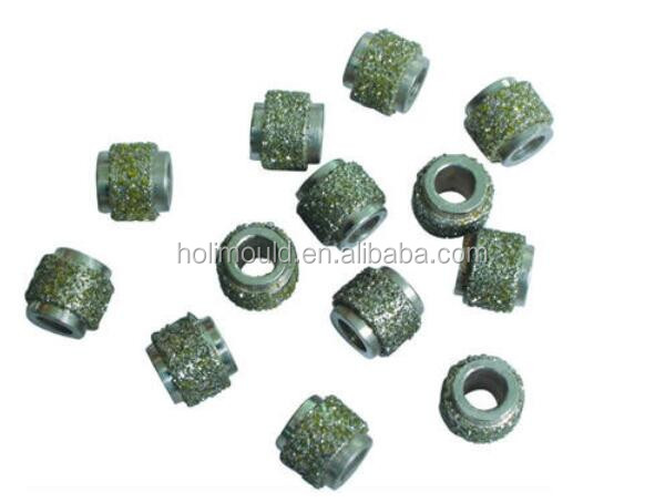 China Supplier of Diamond cutting beads diamond wire saw for steel