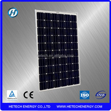 Top quality mono crystal solar module 235 wp import from China