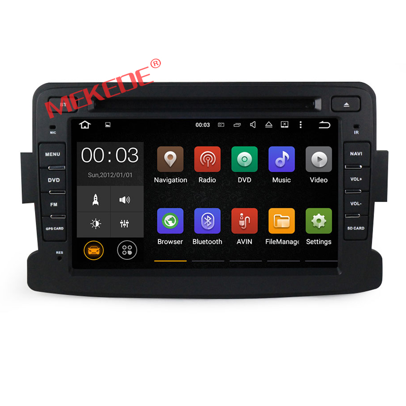 High quality 7 inch touch screen android 7.1 system car redio stereo for RENAULT Dacia/Duster/Logan/Sandero