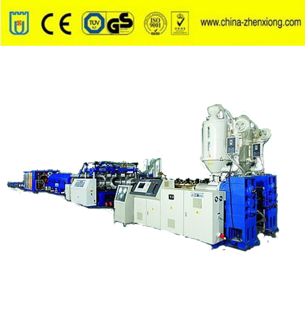 Plastic extruder machine PE/PVC/PP single wall corrugated pipe production line