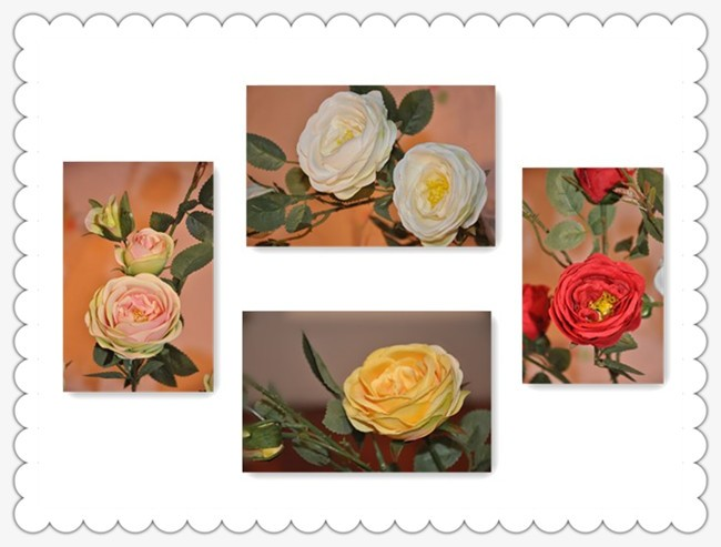 Wholesale Preserved Roses New Year Wedding Decoration Artificial ...