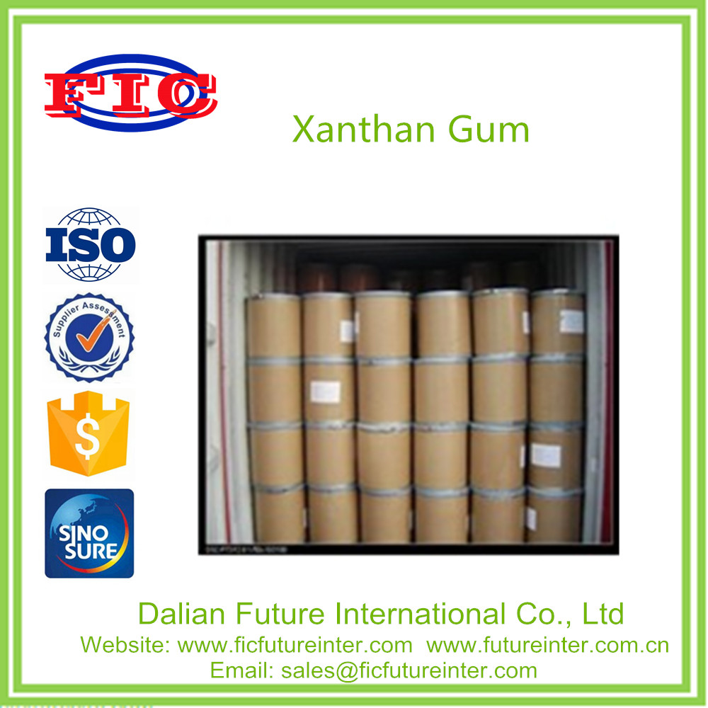80/200mesh ISO certificate xanthan gum packed in 25kg bag