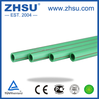 high quality plastic pipe glass fiber reinforced ppr composite pipe