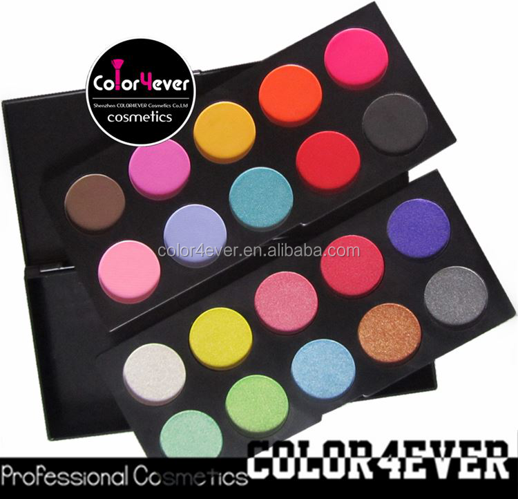 20 color Makeup Multi Colored Private Label Eyeshadow Palette no name makeup