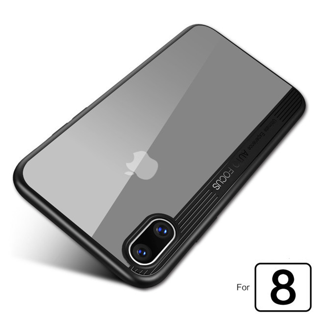 For iPhone 8 Solf TPU Case Fashion New Ultra Slim Camera Protect Soft Silicone TPU Back Cover