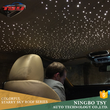 high quality colorful starry sky roof for car interior led lights for bmw 5 series f10 buy