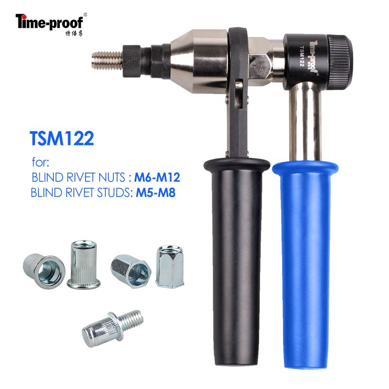 Tsm122 Rivet Nut Gun Hand Nut Riveter Manual Riveting