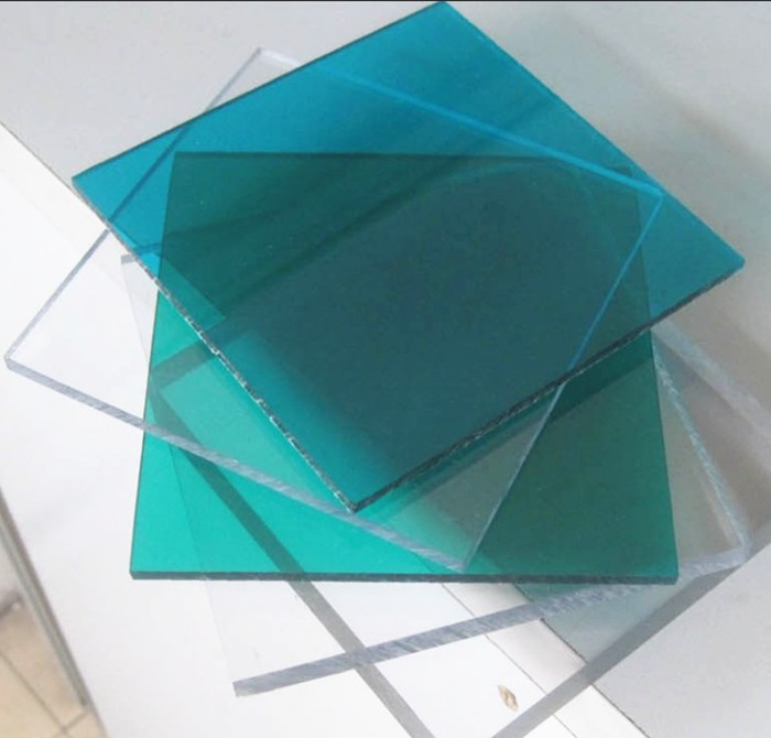 transparent plastic glass sheet for balcony roof cover for ceiling decoration for hotel in china - Glass Sheet Hotel Decorating