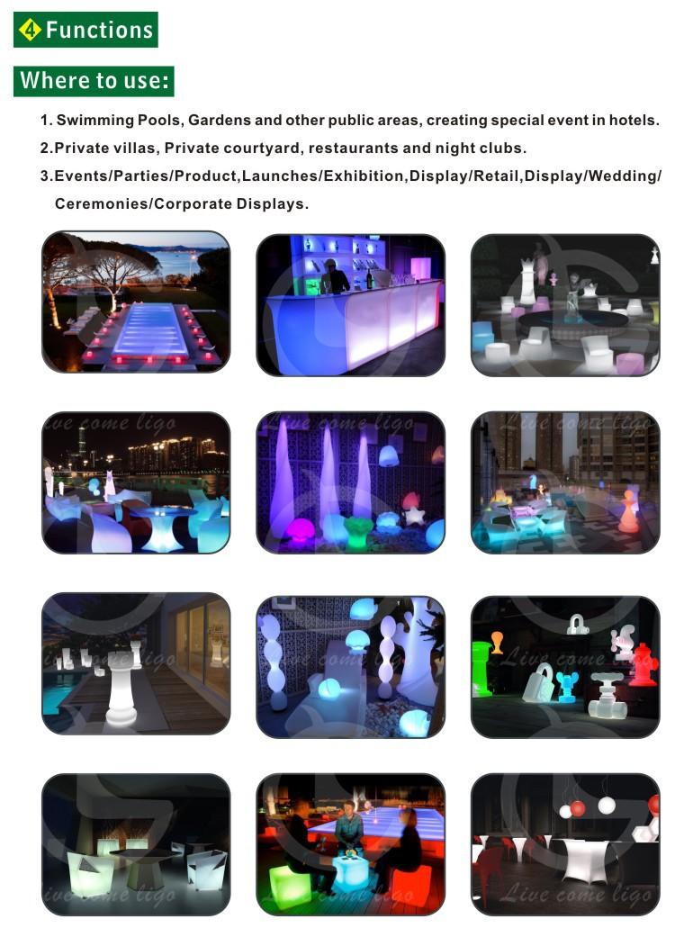 Hot Sales Led Furniture Modern Led Light Bar Table Design China ...