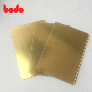 Factory Direct Sale 100% Virgin PMMA 1mm Silver Gold Mirror Acrylic Sheet