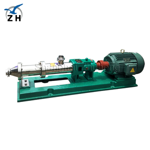diesel engine driven water pump for irrigation drilling mud screw pump micro screw pump