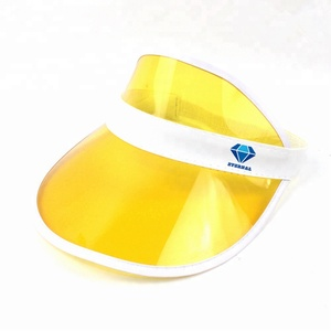 Custom Plastic Sun Visor Cap 1c29e4c683dd