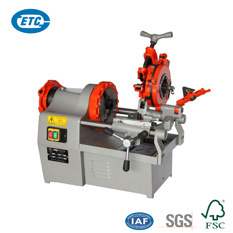 "New Product 1/2-2"" 750W Automatic 24r/min 2 Inch Portable Electric Pipe Threading Machine"