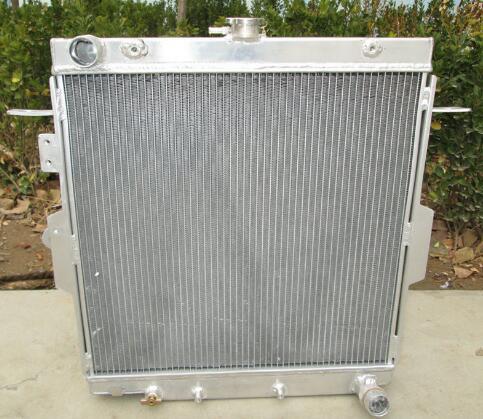 Dual Core High Capacity Race Aluminum Radiator Kit for MIT 95-99 Eclipse Talon