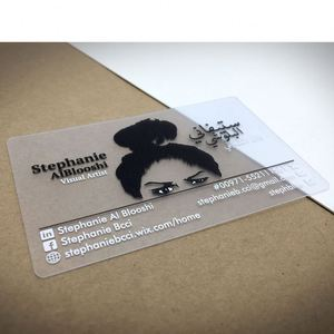 Wholesale Customized Printed Pvc House Shaped Business Cards
