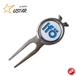 Cheap Price Wholesale Blank Golf Gifts Divot Tool, Bulk Golf Ball Marker With Custom Designs