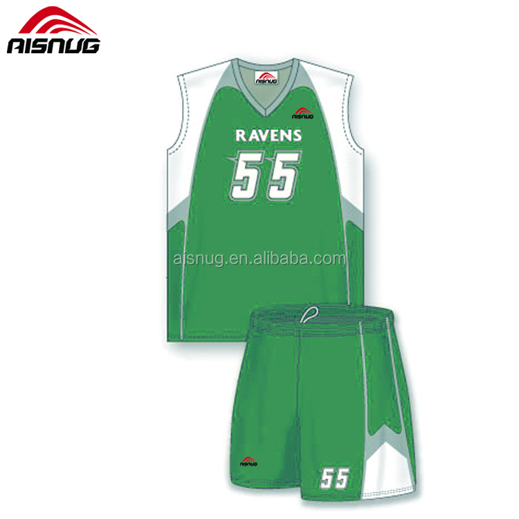 Green Basketball Jersey Design f4603c895