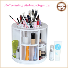 Plastic Tabletop Spinning Cosmetic Makeup Storage Box, Best Women Gifts