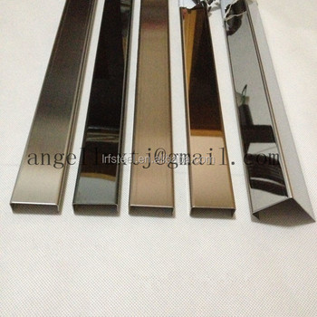 Mirror Finish Stainless Steel Border Lipping Metal Strip