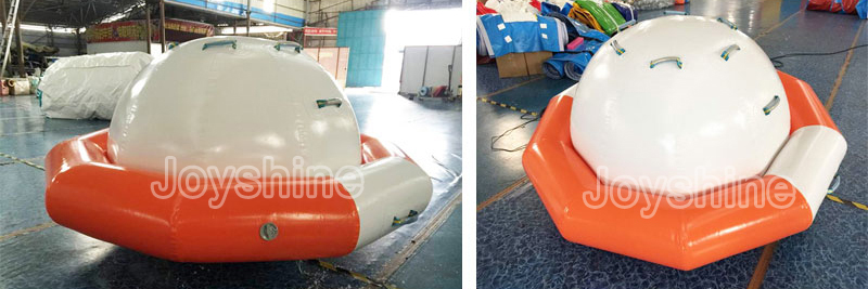 Wholesale Dia 3m 4m 5m Crazy Flying Towable UFO Water Games Inflatable Disco Boat Saturn Towable Water Sports Toy